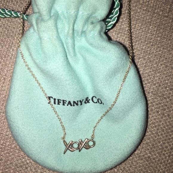 e5e707c8834cf Tiffany & Co. Jewelry | Authentic Tiffany Co Silver Xoxo Necklace ...