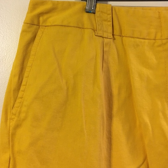 Larry Levine - Larry Levine gold Capri pants. from Romy's closet ...