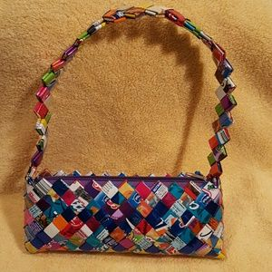 "Handbags - ""Candy Wrapper"" Purse"