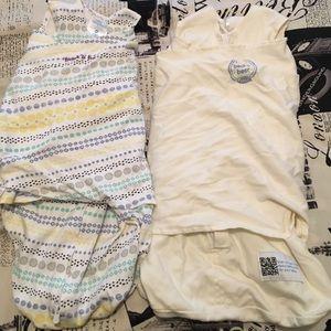 Halo Other - Bundle of two newborn sleep sacks