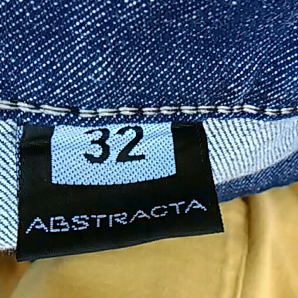 Abstracta Jeans - Flared Stretch Blue Jeans Plus Size