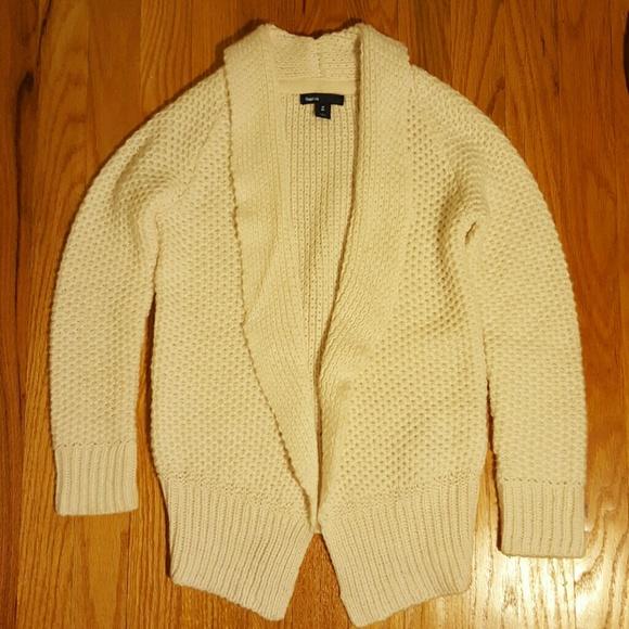 991b58c8276 Gap Kids off white cardigan sweater M or 8