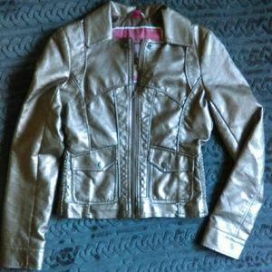 Bernardo Jackets & Blazers - Bernardo faux leather moto jacket