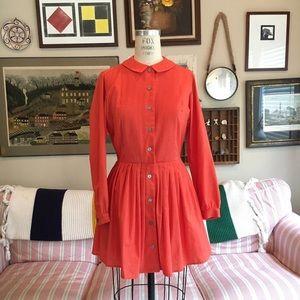 Vintage 1960s Peter Pan Collar Dress, Moving Sale✨
