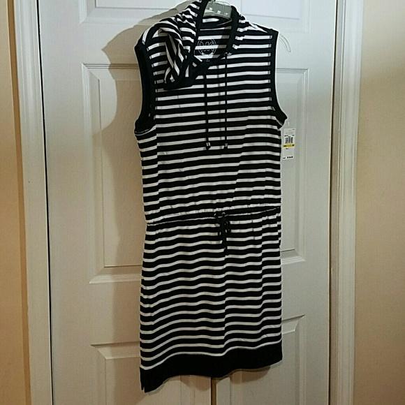 794f10a9f7e0 1 HOUR SALE MK hooded dress M
