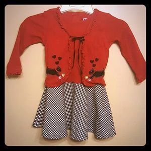 Other - Girls 3t christmas holiday winter dress