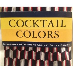 Cocktail Collection Other - 100% SILK COCKTAIL COLLECTION MENS Neck tie