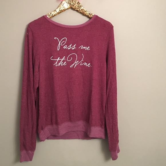 Wildfox Pass Me The Wine Sweater