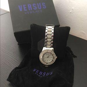 Versus By Versace Accessories - Versus by Versace silver band watch