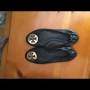 Tory Burch flats- Black
