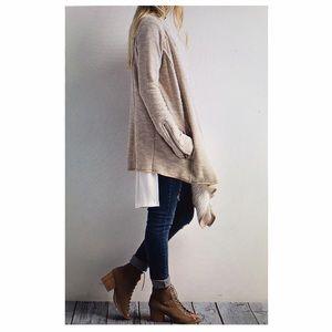 Wishlist Sweaters - Knit open cardigan S/M M/L