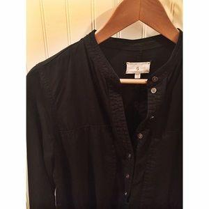 Lou & Grey button up shirt dress