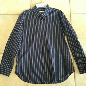 Bugatchi Other - [ Bugatchi] Collared Long Sleeve Shirt Large