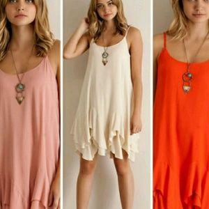 Entro  Dresses & Skirts - Gorgeous cream ruffle dress