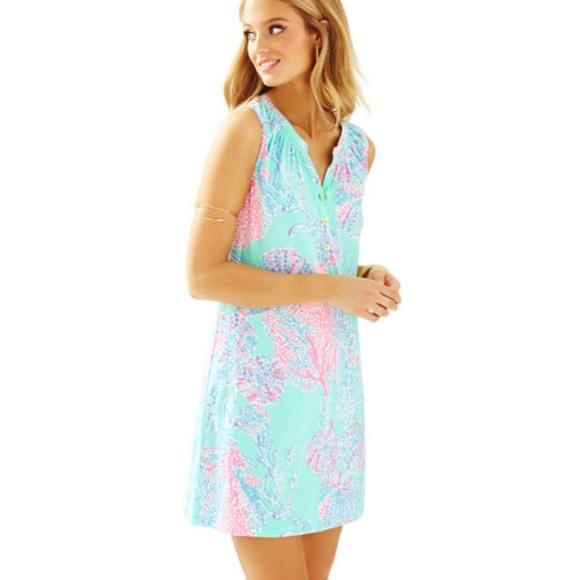 01ea1ddbceb1f0 Lilly Pulitzer Dresses & Skirts - XL Sleeveless Essie Dress Lilly Pulitzer