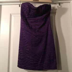 jump girl Dresses & Skirts - Purple strapless dress