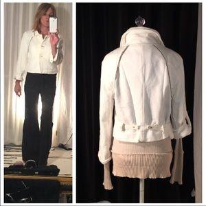✂️PRICE CUT ✂️Millard Fillmore winter white jacket