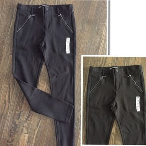 New ZARA Trafaluc Zipper Ankle Skinny Pants
