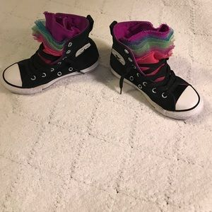Converse Other - HP👍🏻🎉🦄Converse ht multi color size 12 kids