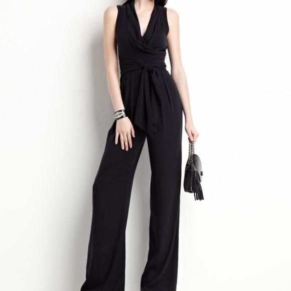 c62baffbb197 Catherine Malandrino Pants - Catherine Malandrino belted silk jumpsuit
