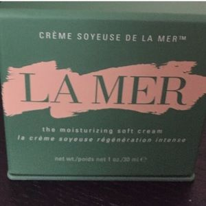 La Mer Other - La Mer Moisturizing soft cream jar and box.