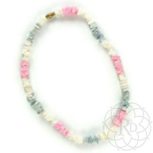Vintage Jewelry - Vintage Multi-Color Shell Necklace