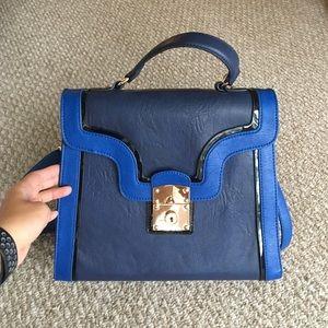 Melie Bianco Kiera Top Handle Cross Body Bag