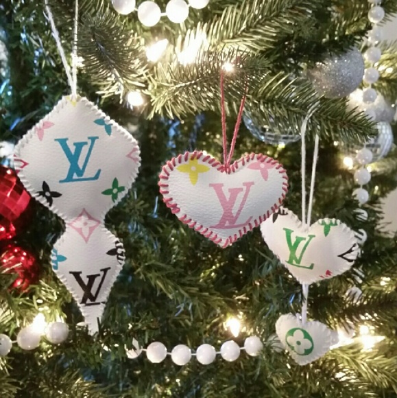 Louis Vuitton Other 5 Pieces Christmas Tree Ornament