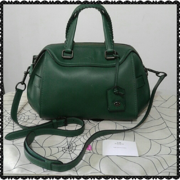 142ea6704d4 Coach Bags | New Green Glovetanned Leather Ace Satchel | Poshmark
