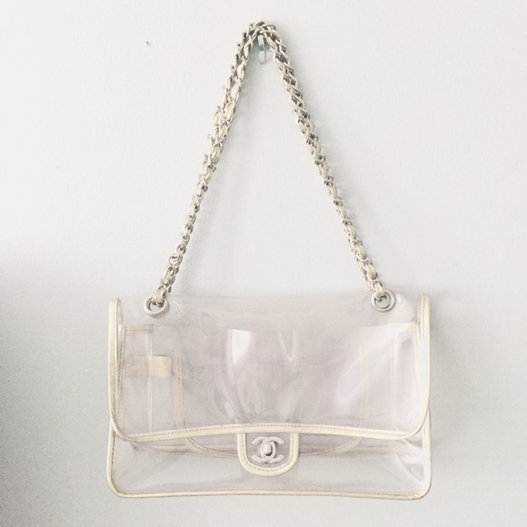 38a40b2ff4d4 CHANEL Handbags - CHANEL Clear Flap Bag
