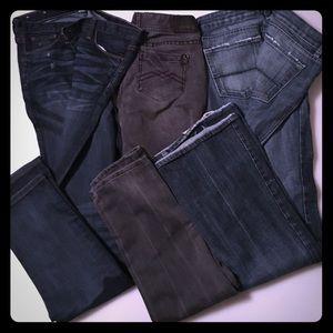 $⬇️Bundle of 3 pair of jeans