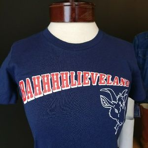 CLE Threads Shirts - Unisex Bahhhhlieveland Cleveland Indians Bella T