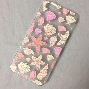 Casetify Accessories - Casetify clear iPhone 5 case with seashells