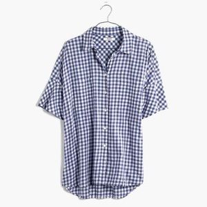 Madewell Tops - Madewell Courier Shirt in Gingham