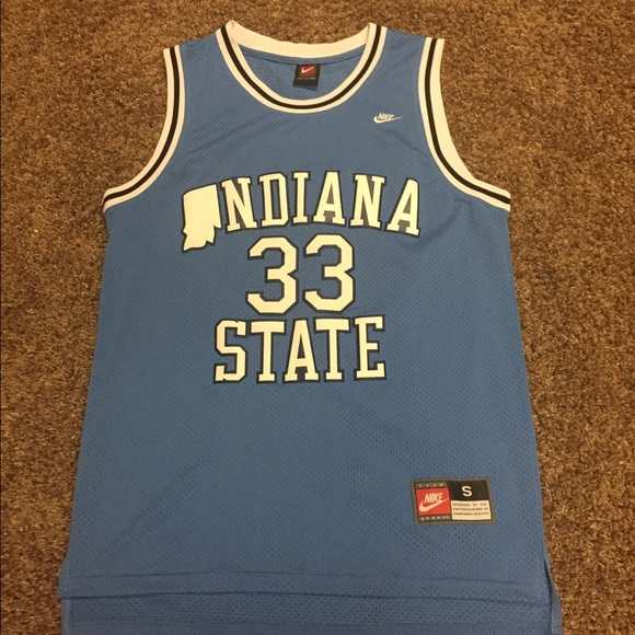 quality design 37b33 99111 Authentic Larry Bird College Jersey