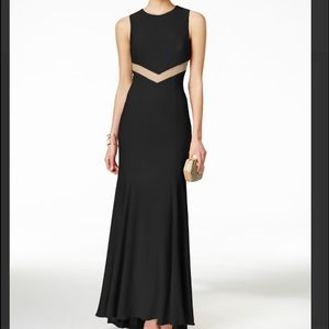Betsy & Adam Dresses & Skirts - Long black cut out dress