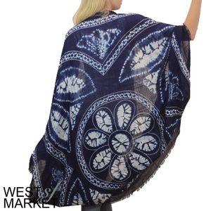 West Market SF Tops - -NEW ARRIVAL-🎉 The Gigi Kimono in Navy