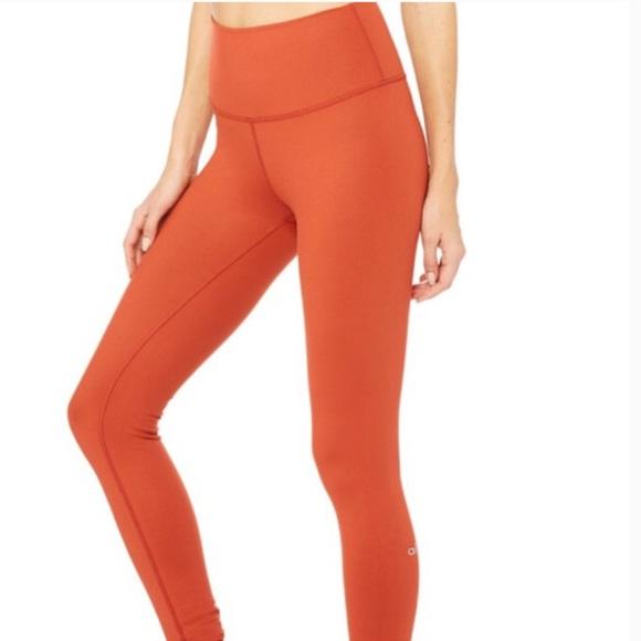ed48b8270b ALO Yoga Pants - Airbrush legging- high waist- sun baked glossy