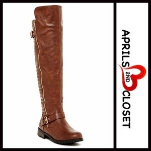 Boutique Shoes - ❗️1-HOUR SALE❗️TALL OVER KNEE HIGH RIDING BOOTS