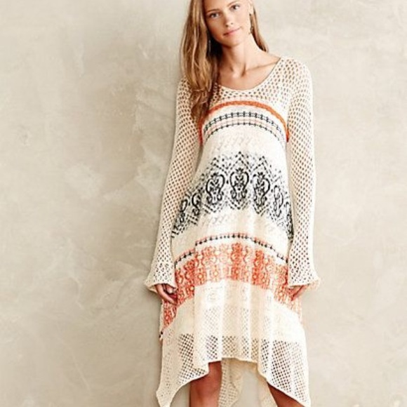 59d84cbfa93 Anthropologie Risen Sun sweater dress