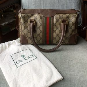 Vintage Gucci Doctor Boston speedy bag auth💯