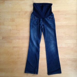 Indigo Blue Denim - MATERNITY jeans