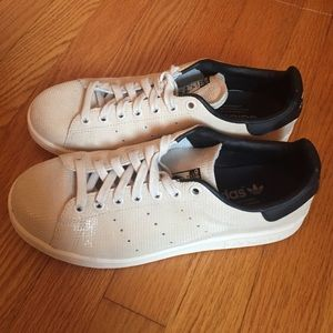 Women's Adidas Stan Smith Sand/Black ART M20808