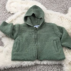 Elephantito Other - Elephantito 30% alpaca zip sweater coat