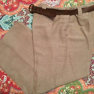 Emma James Pants - Emma &a James Linen Blend Wide Leg Pants