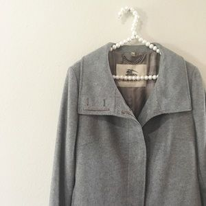 NWOT Burberry London Cashmere & Wool Long Coat