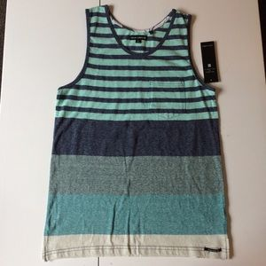 Ocean Current Other - NWT Teal Stripe Tank