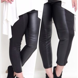 Pants - Faux Leather Pants Jeggings