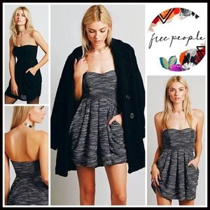 ❗️1-HOUR SALE❗️FREE PEOPLE Dress Strapless