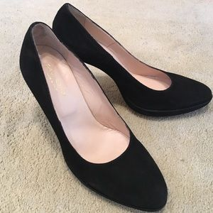 Paul Casty Shoes - Paul Casey black suede pumps. Made in Italy